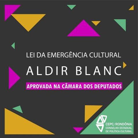 Lei Aldir Blanc de Emergência Cultural    aprovada na Câmara de Deputados + Lenha na Fogueira - Gente de Opinião