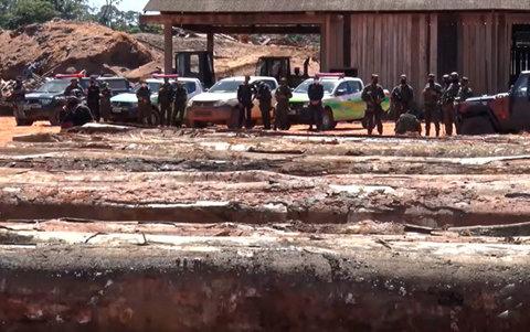 Operação Brasil Verde fecha duas madeireiras por prática de irregularidades