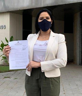 Vereadora Cristiane Lopes cobra mais segurança nas Unidades de Saúde e Hospitais da Capital