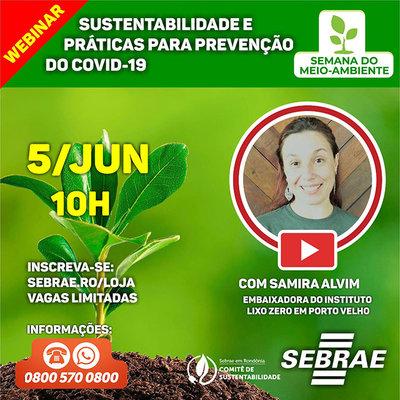 Comitê de Sustentabilidade do Sebrae em Rondônia