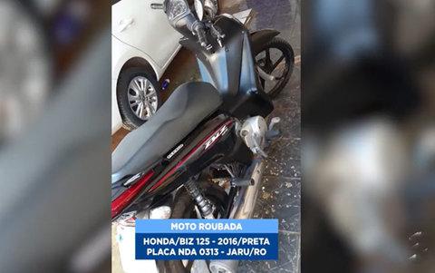 Marginais roubam moto com incrível naturalidade em Porto Velho