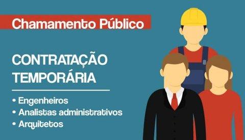 Ministério do Desenvolvimento Regional abre vagas para 249 profissionais temporários