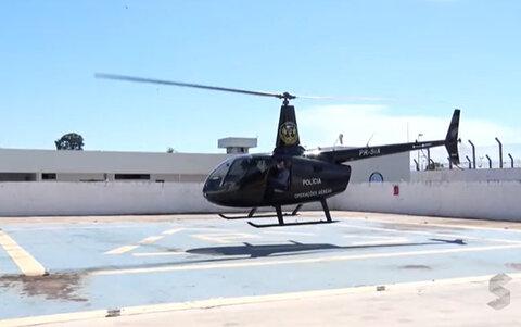 Justiça Federal de São Paulo doa helicóptero que será usado no combate à covid-19 em Rondônia
