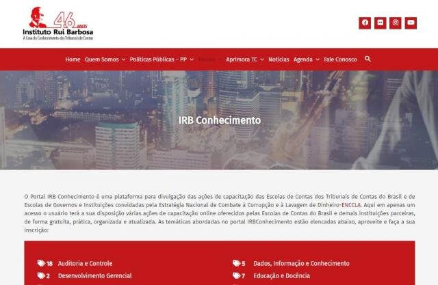 Lançado portal que reúne todas as ações de capacitação dos Tribunais de Contas - Gente de Opinião