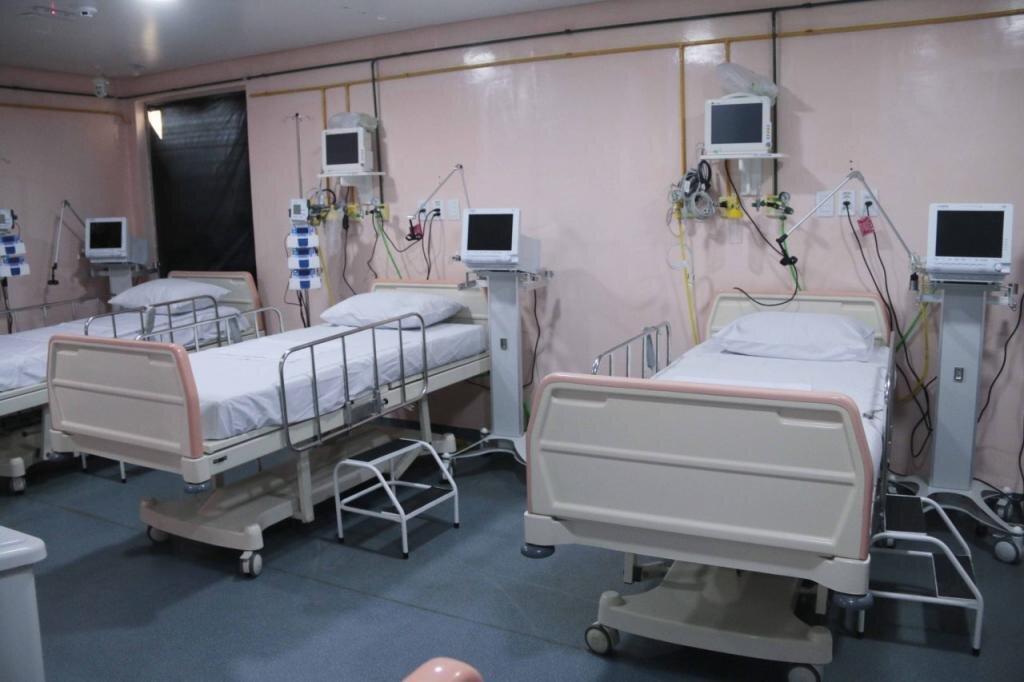 Hospital de Campanha de Rondônia possui 12 leitos de tratamento intensivo para atender pacientes com Covid-19 - Gente de Opinião