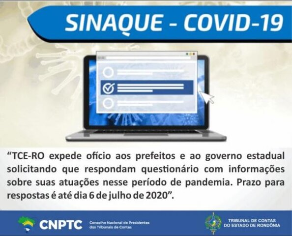 Municípios e Estado devem responder questionário sobre atuação no enfrentamento do coronavírus em Rondônia - Gente de Opinião