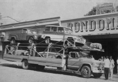 Rondomarsa na década de 60