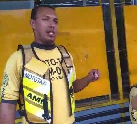 Nota de Pesar pelo falecimento do mototaxista Ismael Santos da Silva