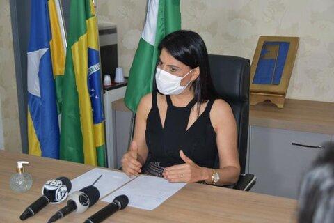 Prefeita de Cacoal pedirá reconsideração ao Estado para manter o comércio aberto