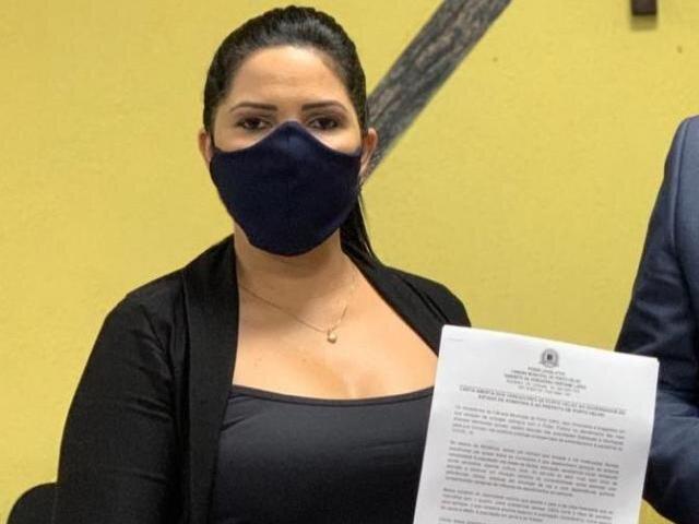 Cristiane Lopes cobra medidas urgentes para a Vila Princesa durante a Pandemia - Gente de Opinião
