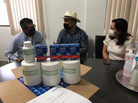 Buritis recebe doação de 100 kits de medicamentos contra Covid-19