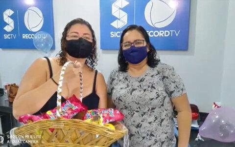 Vencedoras: hoje foi dia de celebrar a vida na sic tv, com o retorno de duas de nossas colaboradoras