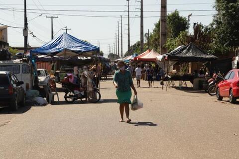 Porto Velho: feiras e mercados municipais  continuam servindo à população