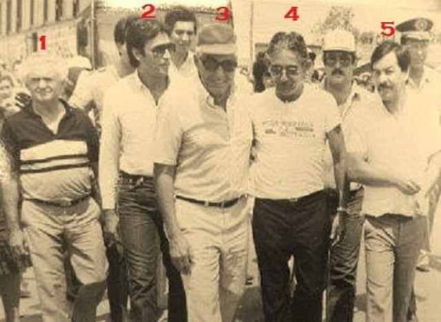Jorge Teixeira de Oliveira em Cacoal no ano de 1983 - Gente de Opinião