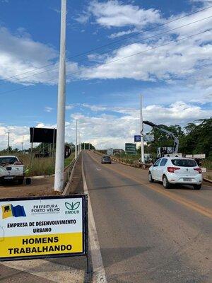 Ponte sobre rio Madeira receberá iluminação feita pela Prefeitura