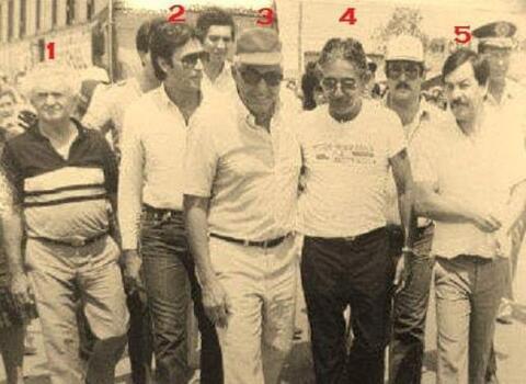 Jorge Teixeira de Oliveira em Cacoal no ano de 1983