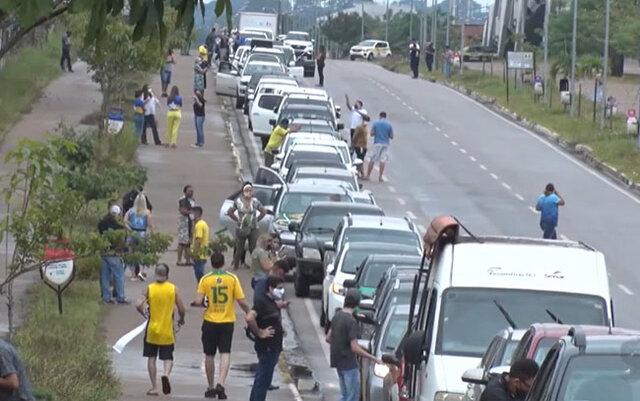 Setor produtivo faz protesto nas ruas pedindo a reabertura do comércio de Porto Velho - Gente de Opinião