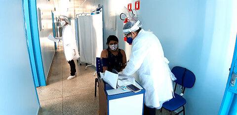 Prefeitura de Porto Velho amplia atendimento na unidade de referência ao coronavírus