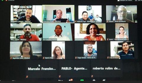 Videoconferência: Profaz realiza rodada de orientações com os municípios de RO sobre a Lei de Liberdade Econômica