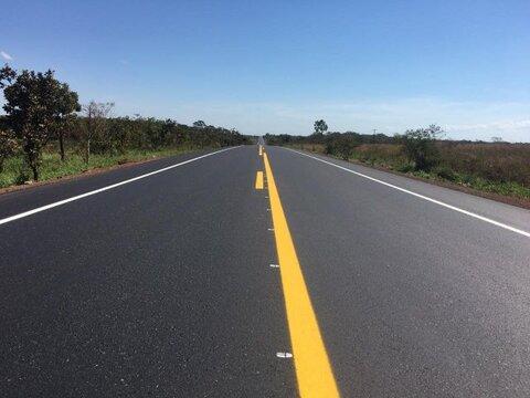 Governo Federal entrega mais 9 quilômetros de pista recuperada na BR-364/RO