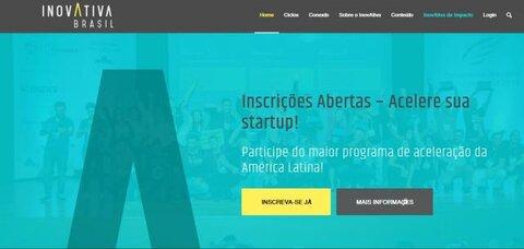 Abertas inscrições para Inovativa Brasil, maior programa de aceleração de startups da América Latina