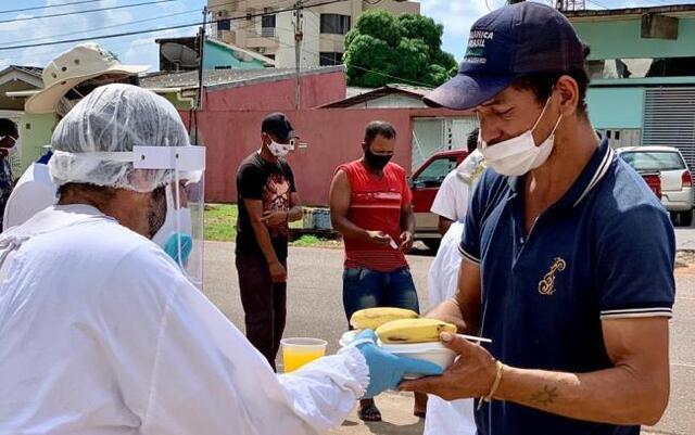 Igreja, Semasf, doadores e voluntários. a corrente do bem contra a fome na Sagrada Família  - Gente de Opinião