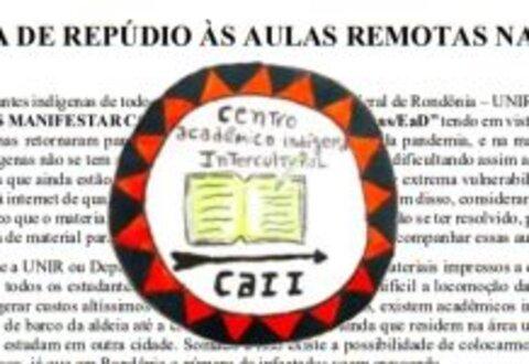 UNIR: estudantes indígenas denunciam política de exclusão com implantação de aulas remotas