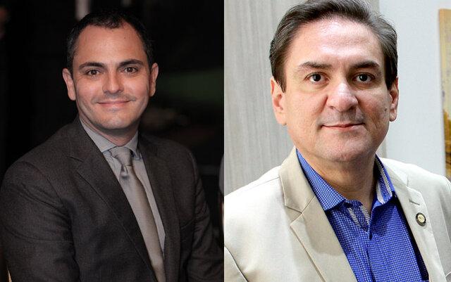 Sérgio Gonçalves da SEDI e Raniery Coelho do Sistema Fecomércio - Gente de Opinião