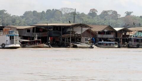 Rio Madeira contaminado