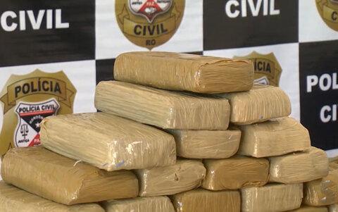Operação policial apreende 80 kg de cocaína na fronteira com a Bolívia
