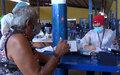 Prefeitura de Porto Velho faz mutirão de atendimento no Aponiã e distribui medicamentos.