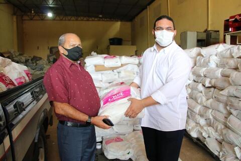 UNOPS, MPT, Justiça do Trabalho e Corpo de Bombeiros entregam duas mil cestas básicas para famílias de Rondônia