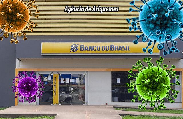 Com seis casos confirmados de covid-19 e mais dois casos suspeitos, agência do Banco do Brasil de Ariquemes tem rotina de superlotação diária e desrespeito a decisões judiciais - Gente de Opinião