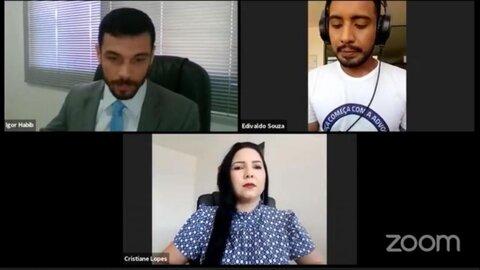 Pré candidata a Prefeita Cristiane Lopes concede entrevista à rádio CAARO da OAB