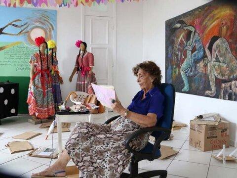 Lenha na Fogueira com a artista plástica Rita Queiroz