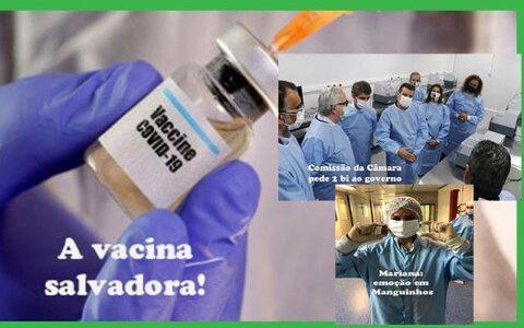 PF faz operação e vice governador Zé Jodan fala sobre o caso + Brasil produz a vacina de Oxford + Esquenta a sucessão em Ariquemes