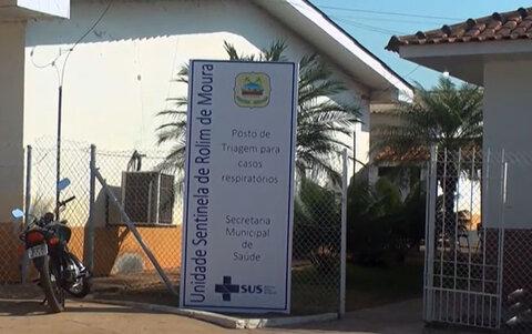 Unidade Sentinela atende pacientes com sintomas de Covid-19 em Rolim de Moura