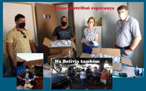 """COVID: César doa centenas de kits de medicamentos + Situação na região de Cacoal """"está colapsada"""" + A estrada do Belmont vai acabar no guiness?"""