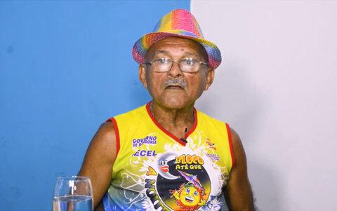 Lenha na Fogueira e o aniversário de 82 anos do Bainha - O mestre do samba