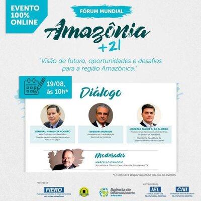 FIERO e parceiros debatem o desenvolvimento sustentável da Amazônia