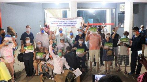 Rondônia chega a 83% de pacientes curados da Covid-19 e mais nove recebem alta do Hospital de Campanha