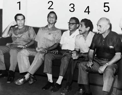 Reunião no Palácio Presidente Vargas nos anos 70