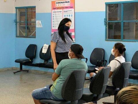 Vereadora Cristiane Lopes faz mais uma fiscalização nas UPAs para garantir atendimento de qualidade a população.