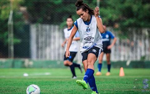 Mayara Farias, de Alto Alegre dos Parecis, foi contratada pelo Grêmio de Porto Alegre