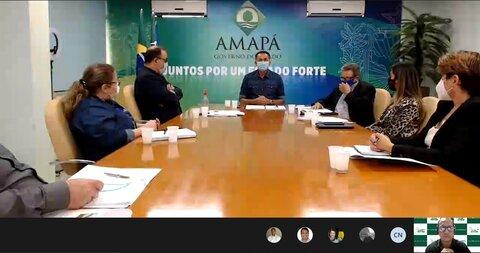 Governador do Amapá confirma apoio total a evento on line do agronegócio