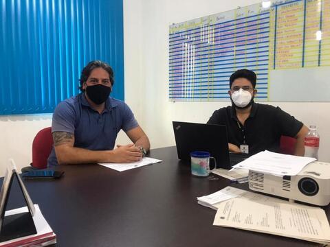 Em visitas às secretarias, pedidos de providências feitos pelo vereador Waldemar Neto são atendidos