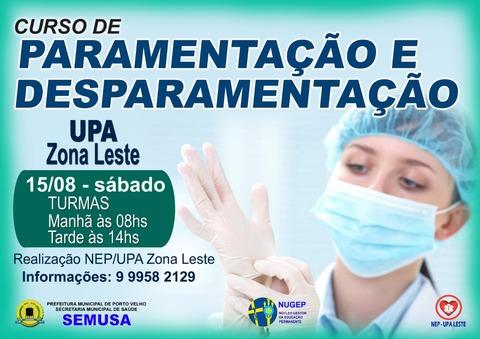 Prefeitura de Porto Velho promove curso para servidores da saúde