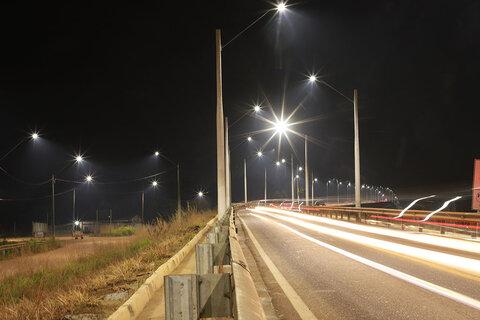 Prefeitura inaugura sistema de iluminação da Ponte do Rio Maderira